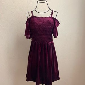 Red Velvet Aeropostale Dress